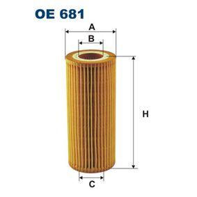 Hydraulikfilter, Automatikgetriebe Höhe: 149mm, Filtereinsatz mit OEM-Nummer 1 521 527