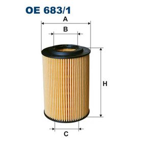 Filtro de aceite OE 683/1 CIVIC 8 Hatchback (FN, FK) 2.2 CTDi (FK3) ac 2006