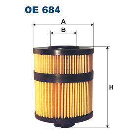 Ölfilter Ø: 92mm, Innendurchmesser 2: 35mm, Innendurchmesser 2: 34mm, Höhe: 122mm mit OEM-Nummer 54 446 82