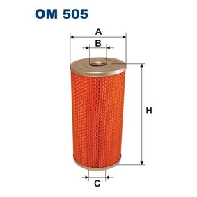 FILTRON  OM 505 Ölfilter Ø: 100mm, Innendurchmesser 2: 30mm, Höhe: 198mm