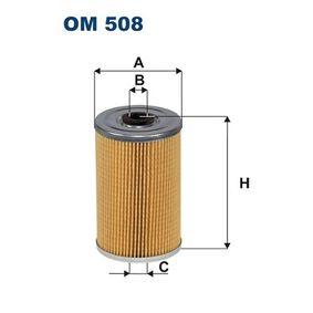 Ölfilter Ø: 70mm, Innendurchmesser 2: 13,5mm, Innendurchmesser 2: 13,5mm, Höhe: 117mm mit OEM-Nummer 5002176