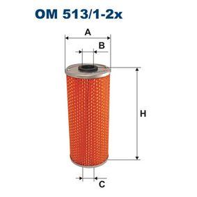 Ölfilter Ø: 82mm, Innendurchmesser 2: 23mm, Innendurchmesser 2: 23mm, Höhe: 195mm mit OEM-Nummer A 4411800209