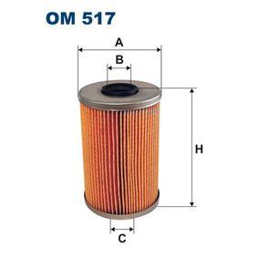 Ölfilter Ø: 82mm, Innendurchmesser 2: 28mm, Innendurchmesser 2: 28mm, Höhe: 128,5mm mit OEM-Nummer 5004282