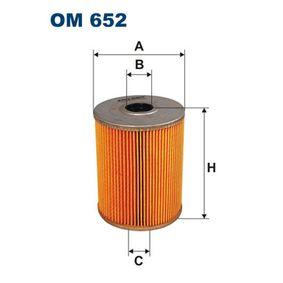 Ölfilter Ø: 82mm, Innendurchmesser 2: 23mm, Innendurchmesser 2: 18mm, Höhe: 105,5mm mit OEM-Nummer 021 115 562