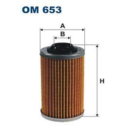 Ölfilter Innendurchmesser 2: 18mm, Höhe: 98mm mit OEM-Nummer 93 186 310