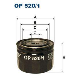 Filtre à huile Ø: 93mm, Diamètre intérieur 2: 72mm, Diamètre intérieur 2: 62,5mm, Hauteur: 70mm avec OEM numéro 21051012005