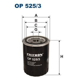 T4 Transporter 1.9TD Ölfilter FILTRON OP 525/3 (1.9TD Diesel 2001 ABL)