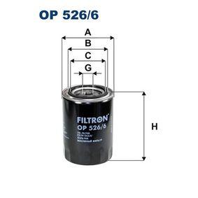 Ölfilter Ø: 93mm, Höhe: 142mm mit OEM-Nummer 068115561 F