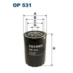 Ölfilter Ø: 93,5mm, Innendurchmesser 2: 72mm, Innendurchmesser 2: 62,5mm, Höhe: 132mm mit OEM-Nummer 4523873