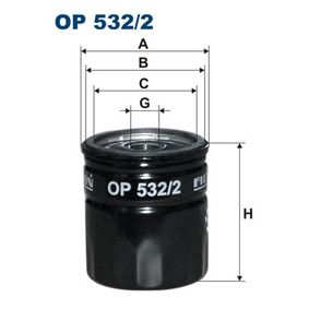 Ölfilter Ø: 76,5mm, Innendurchmesser 2: 71mm, Innendurchmesser 2: 62mm, Höhe: 85mm mit OEM-Nummer 93186554