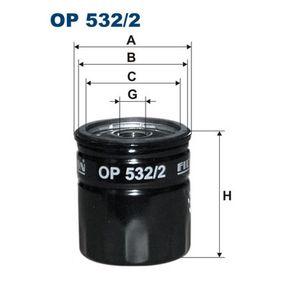 Oil Filter OP 532/2 6 (GH) 2.0 MZR MY 2012