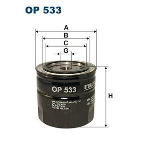 Ölfilter Ø: 93,5mm, Innendurchmesser 2: 72mm, Innendurchmesser 2: 62,5mm, Höhe: 89,5mm mit OEM-Nummer 880334