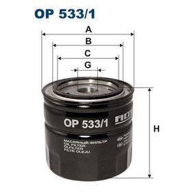 Ölfilter Ø: 93,5mm, Innendurchmesser 2: 72mm, Innendurchmesser 2: 62mm, Höhe: 89,5mm mit OEM-Nummer AJ04-14-302 B