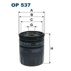 Ölfilter Ø: 76,5mm, Innendurchmesser 2: 71,5mm, Innendurchmesser 2: 62,5mm, Höhe: 96,5mm mit OEM-Nummer 1109.W7