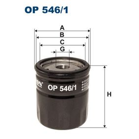 Ölfilter Ø: 77mm, Innendurchmesser 2: 71mm, Innendurchmesser 2: 62mm, Höhe: 85mm mit OEM-Nummer 1339 125