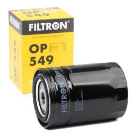 FILTRON  OP 549 Ölfilter Ø: 93,5mm, Innendurchmesser 2: 72,5mm, Innendurchmesser 2: 62,5mm, Höhe: 132mm