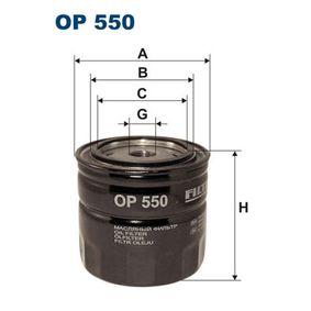 Filtre à huile Ø: 93,5mm, Diamètre intérieur 2: 72mm, Diamètre intérieur 2: 62,5mm, Hauteur: 109mm avec OEM numéro 6031840025