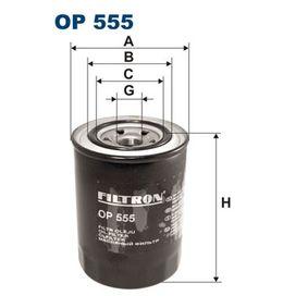 Ölfilter Ø: 90mm, Innendurchmesser 2: 62mm, Innendurchmesser 2: 51mm, Höhe: 127,5mm mit OEM-Nummer 15601-87310