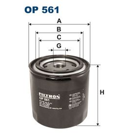 Ölfilter Ø: 93,5mm, Innendurchmesser 2: 72mm, Innendurchmesser 2: 62,5mm, Höhe: 89,5mm mit OEM-Nummer 1498 022
