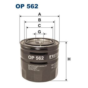 Ölfilter Ø: 93,5mm, Innendurchmesser 2: 72,5mm, Innendurchmesser 2: 62,5mm, Höhe: 88mm mit OEM-Nummer 90915 40001
