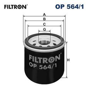 Filtro de aceite OP 564/1 Aveo / Kalos Hatchback (T250, T255) 1.2 ac 2013