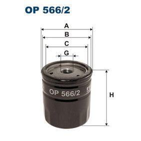 Filtro de aceite Número de artículo OP 566/2 120,00€