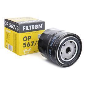 Ölfilter Ø: 93,5mm, Innendurchmesser 2: 72,5mm, Innendurchmesser 2: 62mm, Höhe: 89,5mm mit OEM-Nummer 156513-A