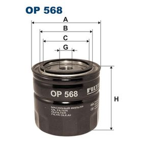 Ölfilter Ø: 93,5mm, Innendurchmesser 2: 72,5mm, Innendurchmesser 2: 62,5mm, Höhe: 89,5mm mit OEM-Nummer 107 580
