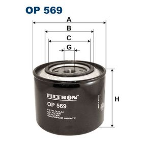 Ölfilter Ø: 109,5mm, Innendurchmesser 2: 72,5mm, Innendurchmesser 2: 63mm, Höhe: 97mm mit OEM-Nummer 044 1567 0