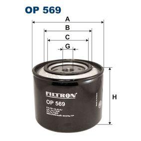 Ölfilter Ø: 109,5mm, Innendurchmesser 2: 72,5mm, Innendurchmesser 2: 63mm, Höhe: 97mm mit OEM-Nummer 4719150