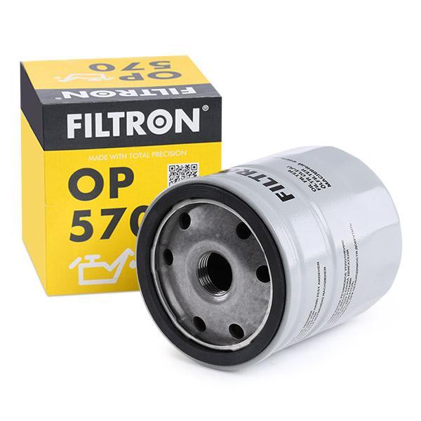 Filtro de Aceite FILTRON OP570 conocimiento experto