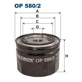 Ölfilter Ø: 93,5mm, Innendurchmesser 2: 72,5mm, Innendurchmesser 2: 62,5mm, Höhe: 69,5mm mit OEM-Nummer 861476-0