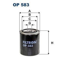 Ölfilter Ø: 83mm, Innendurchmesser 2: 63mm, Innendurchmesser 2: 55mm, Höhe: 98mm mit OEM-Nummer 16510-61A31