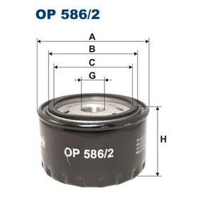 Ölfilter Ø: 94mm, Innendurchmesser 2: 72mm, Innendurchmesser 2: 62,5mm, Höhe: 52mm mit OEM-Nummer 7700 727 482