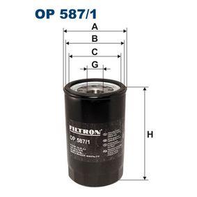 Ölfilter Ø: 94mm, Innendurchmesser 2: 87mm, Innendurchmesser 2: 75mm, Höhe: 152mm mit OEM-Nummer 650391