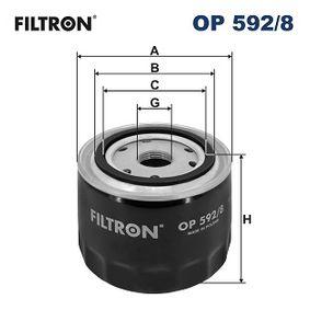 Ölfilter Ø: 94mm, Innendurchmesser 2: 72mm, Innendurchmesser 2: 62mm, Höhe: 70mm mit OEM-Nummer 2995811
