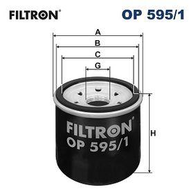 Filtro de aceite OP 595/1 CX-5 (KE, GH) 2.0AWD ac 2013