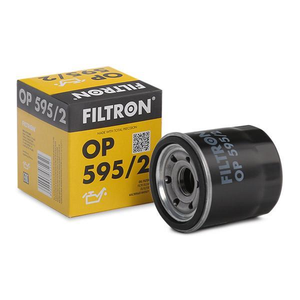 FILTRON  OP 595/2 Ölfilter Ø: 69mm, Innendurchmesser 2: 63mm, Innendurchmesser 2: 55mm, Höhe: 73,5mm