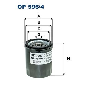 Ölfilter Ø: 69mm, Innendurchmesser 2: 63mm, Innendurchmesser 2: 55mm, Höhe: 86mm mit OEM-Nummer 15208 AA160