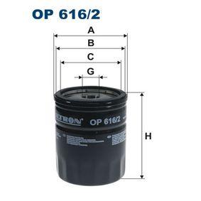 Ölfilter Ø: 76,5mm, Innendurchmesser 2: 71,5mm, Innendurchmesser 2: 62,5mm, Höhe: 96,5mm mit OEM-Nummer 047115561 B