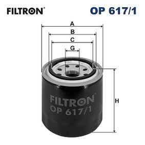 FILTRON  OP 617/1 Ölfilter Ø: 83mm, Innendurchmesser 2: 63mm, Innendurchmesser 2: 55mm