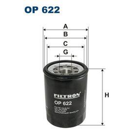 Ölfilter Ø: 90mm, Innendurchmesser 2: 87mm, Innendurchmesser 2: 75mm, Höhe: 127,5mm mit OEM-Nummer 1651678E01000