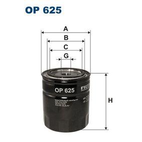 Ölfilter Ø: 93,5mm, Innendurchmesser 2: 72,5mm, Innendurchmesser 2: 62,5mm, Höhe: 109mm mit OEM-Nummer 5 025 133