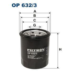 Ölfilter Ø: 72mm, Innendurchmesser 2: 65mm, Innendurchmesser 2: 56mm, Höhe: 88mm mit OEM-Nummer 8-94314263-2