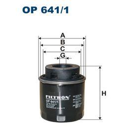 Golf 5 1.4TSI Sekundärluftpumpe FILTRON OP 641/1 (1.4 TSI Benzin 2008 CAXA)