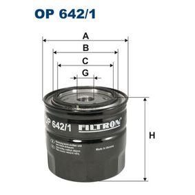 Ölfilter Ø: 93,5mm, Innendurchmesser 2: 72,5mm, Innendurchmesser 2: 63mm, Höhe: 89,5mm mit OEM-Nummer 8200007832