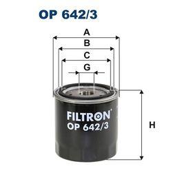 Ölfilter Ø: 88mm, Innendurchmesser 2: 70mm, Innendurchmesser 2: 62mm, Höhe: 89mm mit OEM-Nummer 82 00 893 554