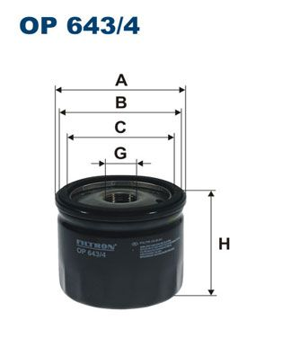 Article № OP 643/4 FILTRON prices
