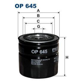 Ölfilter Ø: 93,5mm, Innendurchmesser 2: 72,5mm, Innendurchmesser 2: 62mm, Höhe: 89,5mm mit OEM-Nummer 46519728