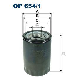 Ölfilter Ø: 76mm, Höhe: 119mm mit OEM-Nummer 96JV-6714-AA